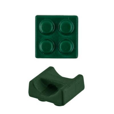 Пуговицы металлические МВ 0154 7,2мм 24шт D197 зеленый