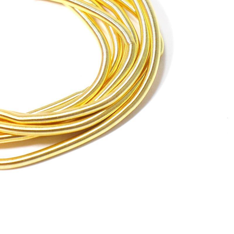 Канитель 1,5мм 4765ЕМВFW золотисто желтый 5гр