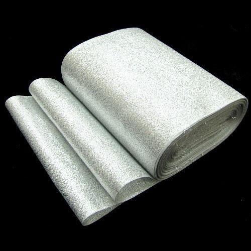 Парча С3298 125мм 20м серебро 8706 502401