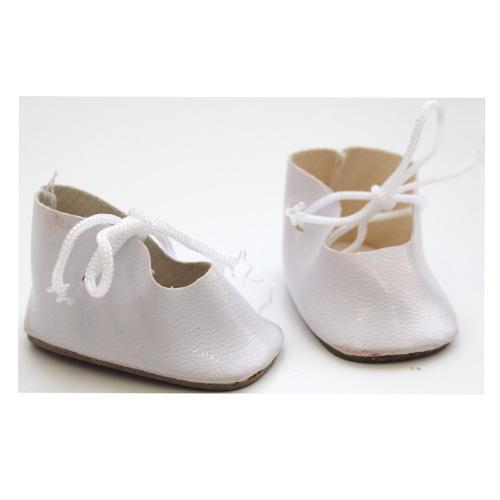 Ботиночки для кукол 4,5см 2 пары 498642/24741 белый