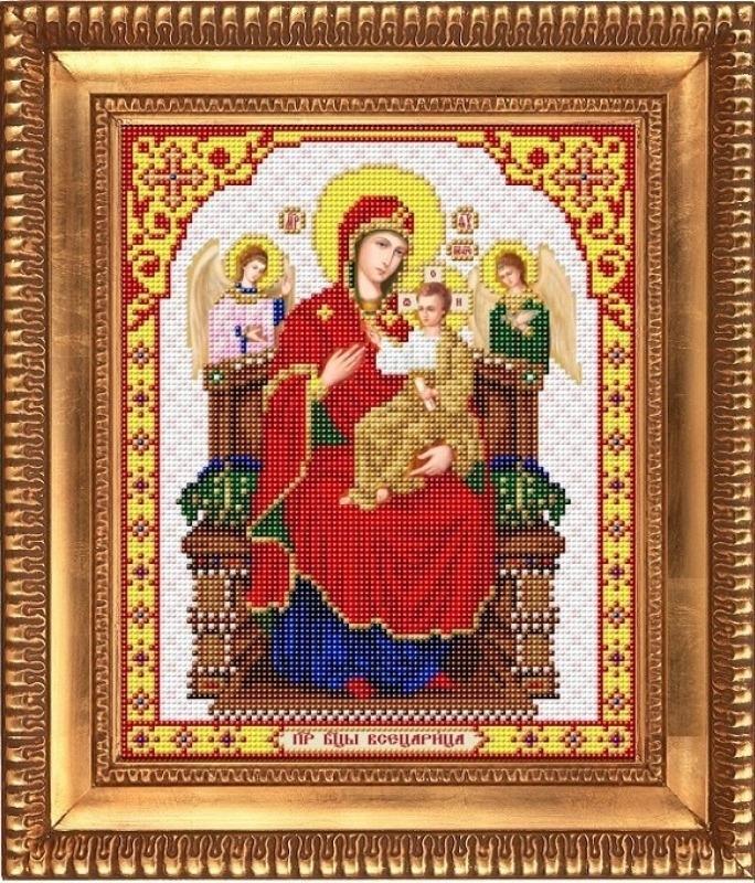 "Рисунок на ткани И-4061 ""Пресвятая Богородица Всецарица"""