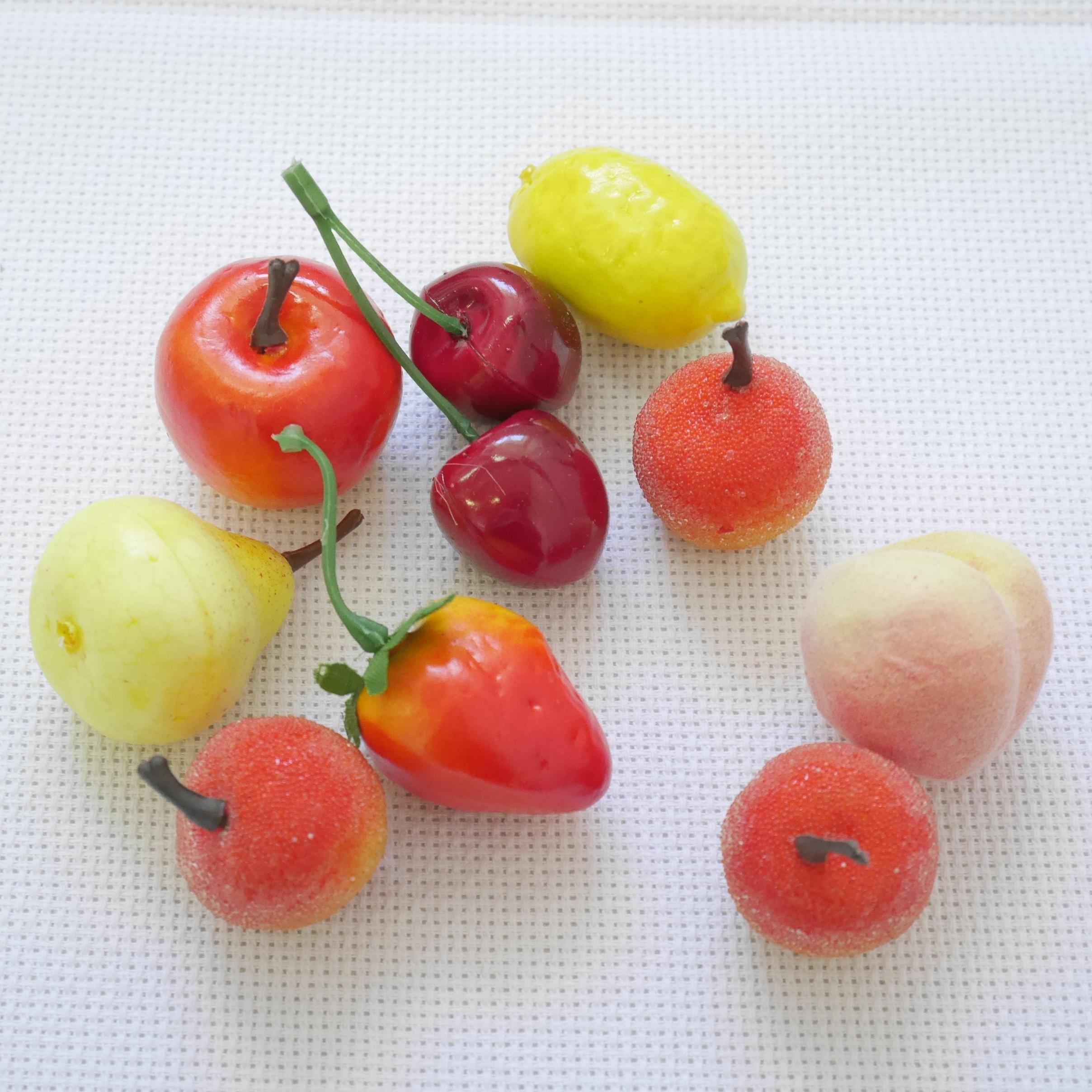 Декоративные фрукты Ассорти 10шт