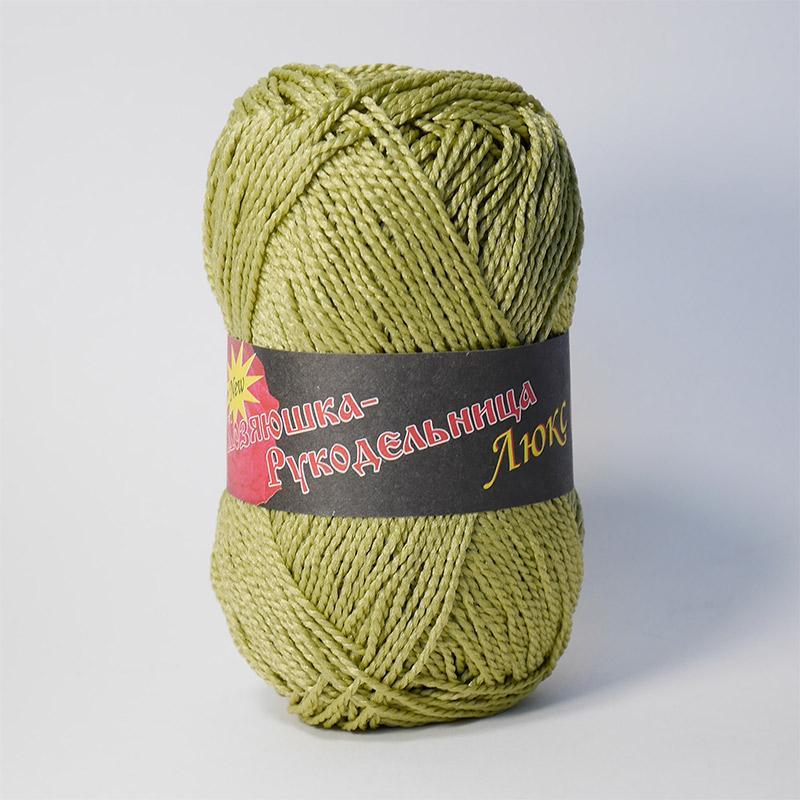 Пряжа Люкс 07 - оливка