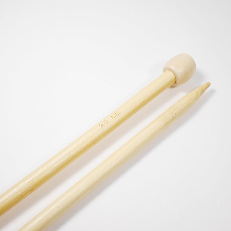 Спицы бамбук №9прямые