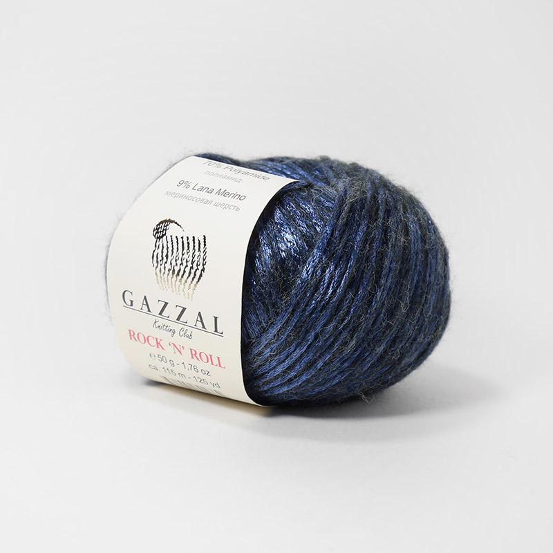 Пряжа Рок-н-ролл 13192 - фиолетовый
