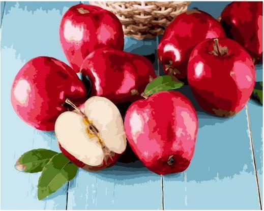 Картина по номерам GX 37736 Солнечные яблоки 40х50см