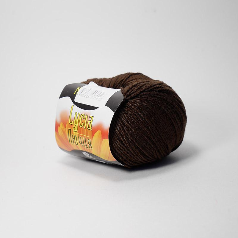 Пряжа Лючия 063 - шоколад