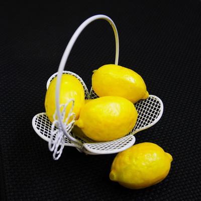 Декоративные фрукты Лимон 10шт
