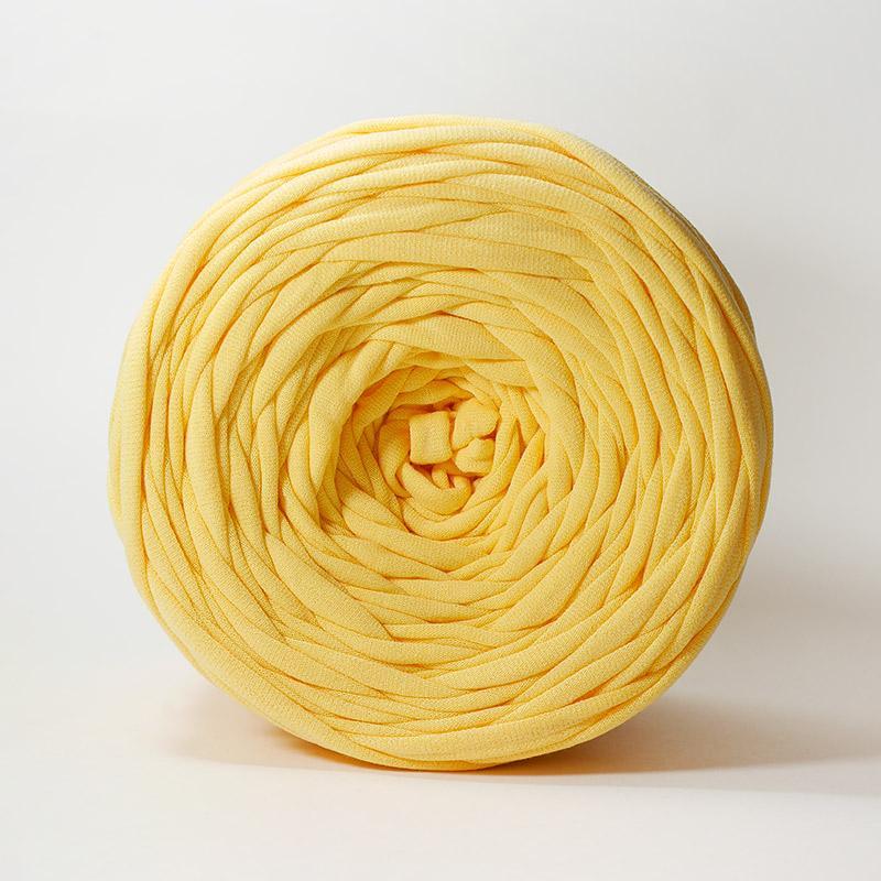 Пряжа Лента новый желтый