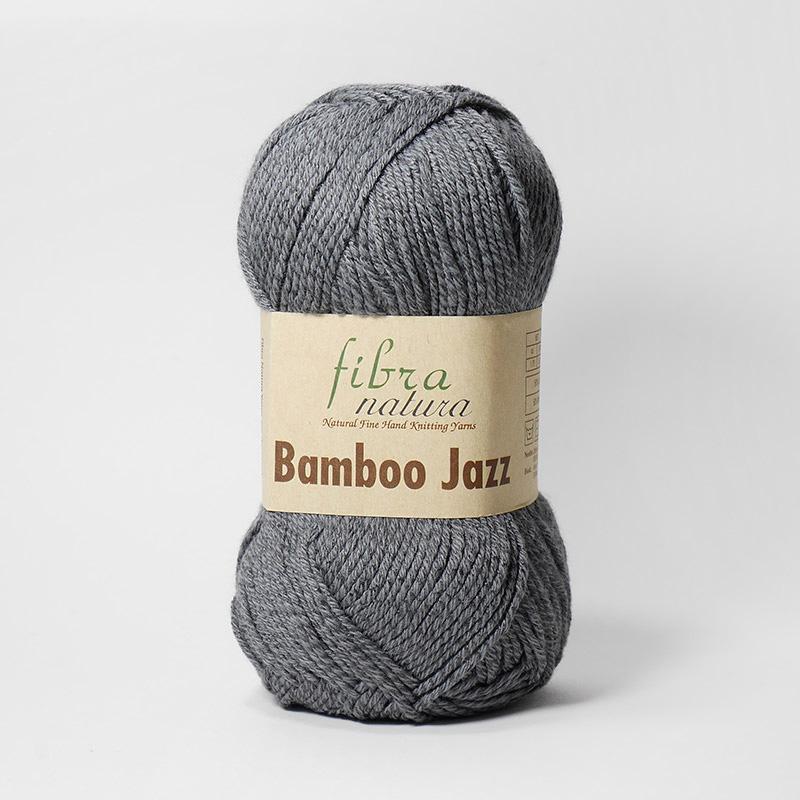 Пряжа Бамбо Джаз  221 - серый