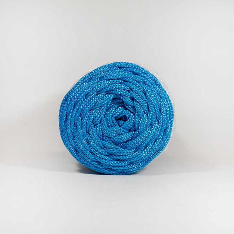 Шнур плоский 5мм 100м 503 2 нити синий