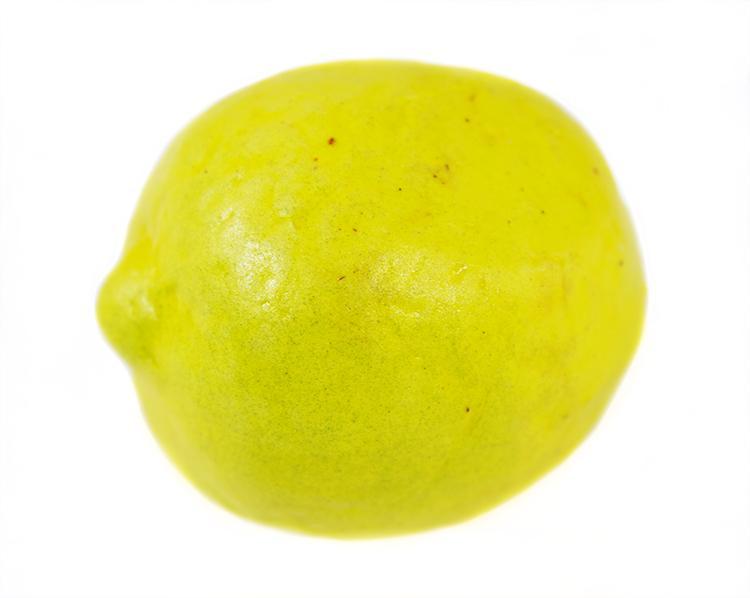 Декоративные фрукты Лимон большой 3,5х4,5см 10шт