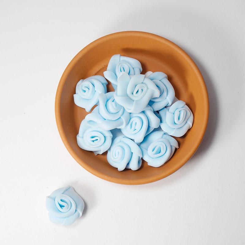 Бутончик цветов 1,5см SF-033 св.голубой 15-469