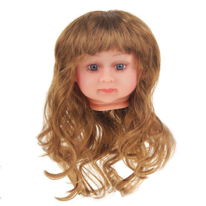 Волосы для кукол Прямые с челкой 2294807