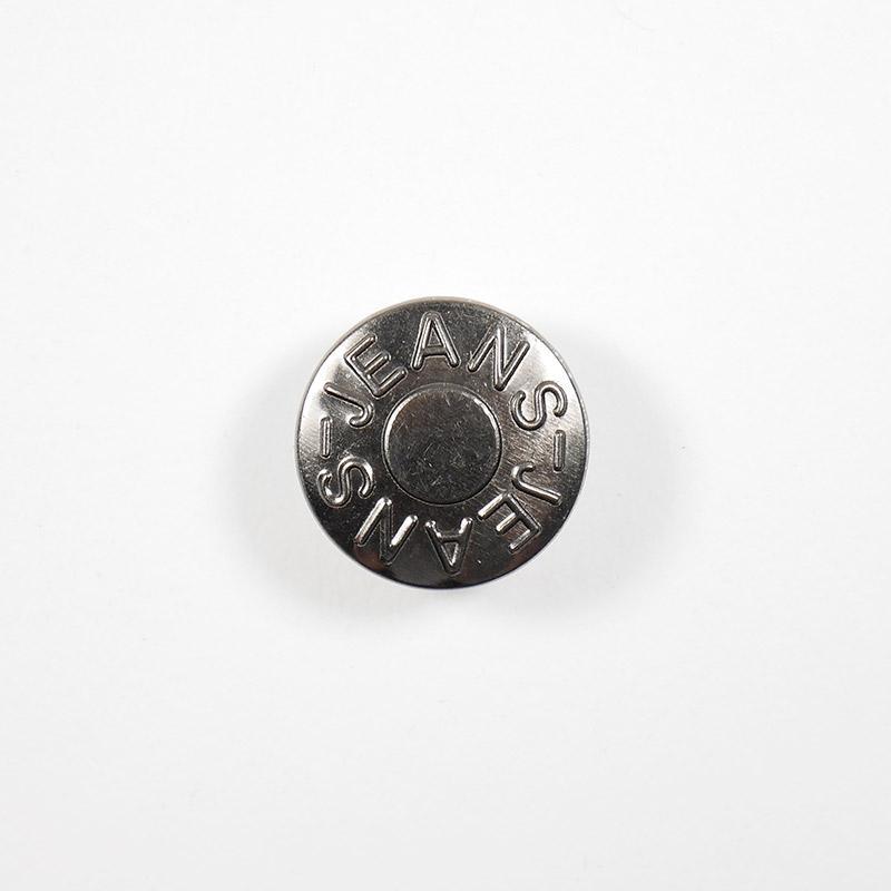 Пуговицы джинсовый 20мм JEANS-JEANS, черный никель
