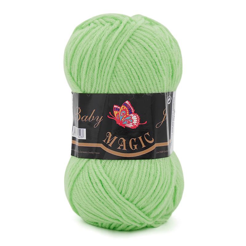 Пряжа Baby Joy 5706 - нежно-зеленый