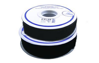 Липучка 25мм LG-25 (ТА) 5м черный