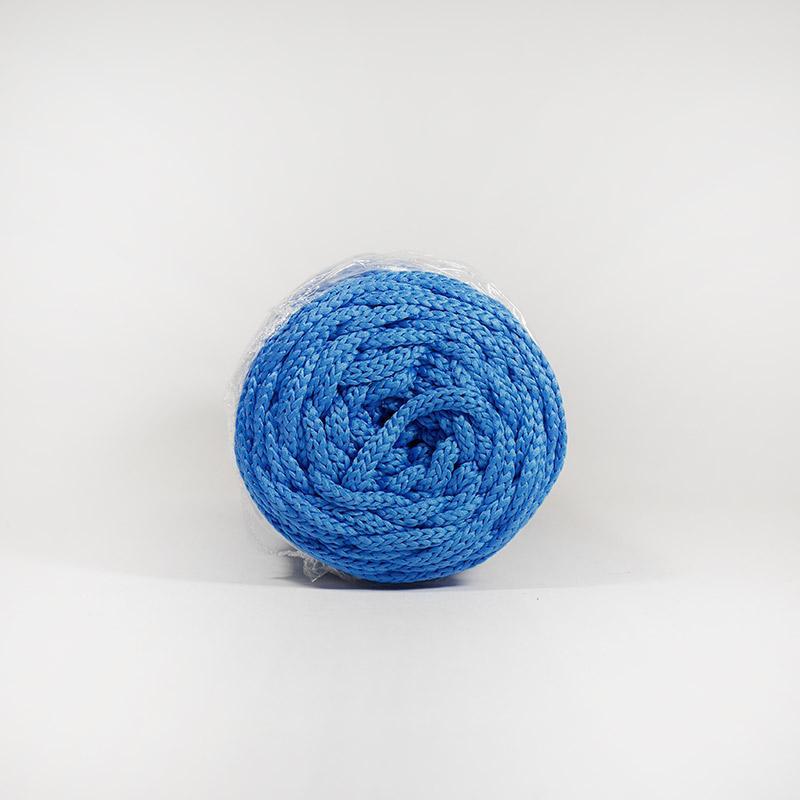 Шнур без сердечн 4мм 14 100м полиэфир синий