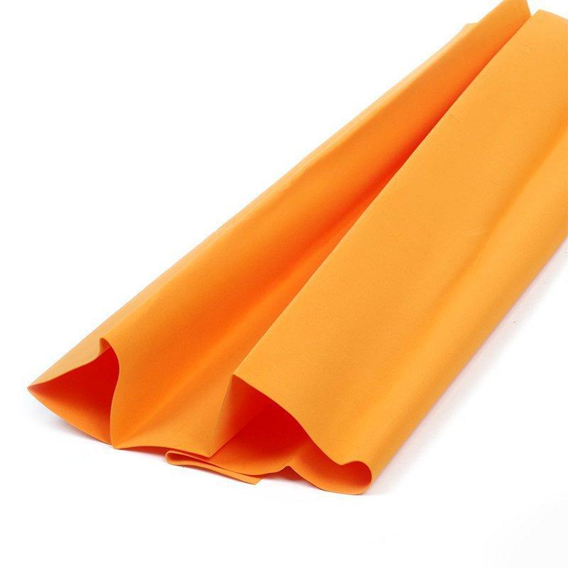 Фоамиран в листах 1мм 007 оранжевый 60х70см