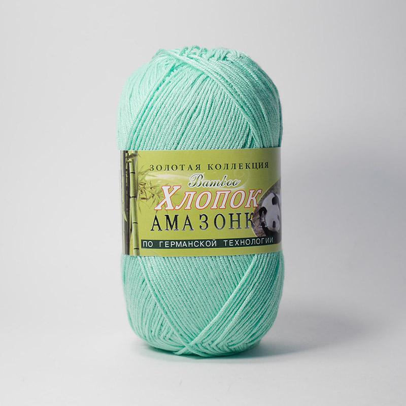 Пряжа Амазонка 121 - молодая зелень