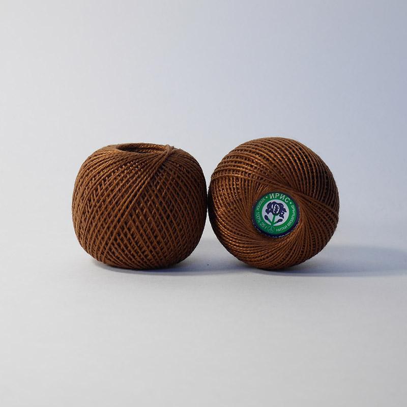 Пряжа Ирис 6512 - коричневый