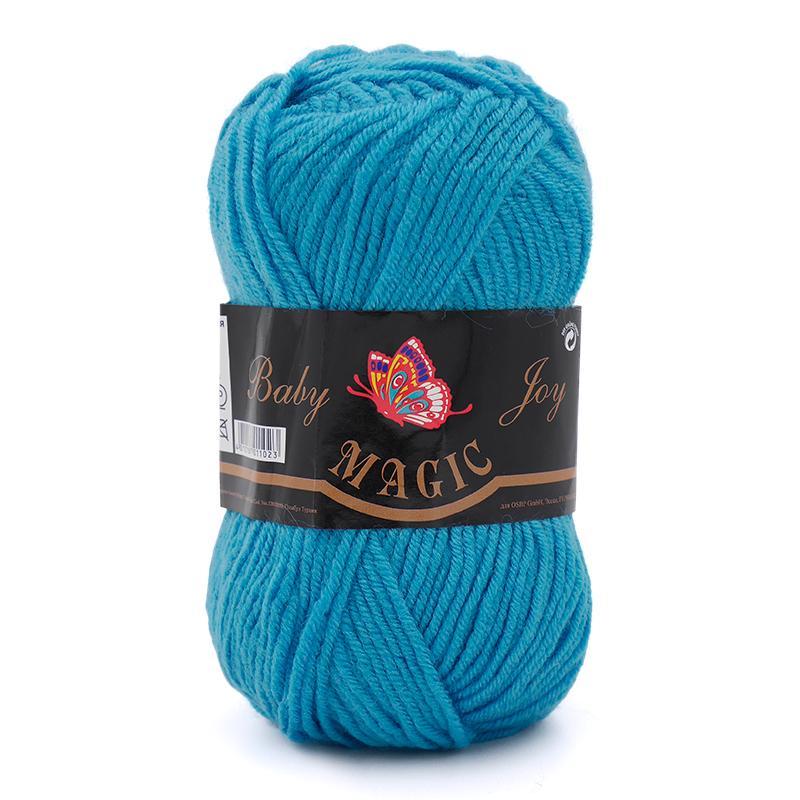 Пряжа Baby Joy 5708 - голубая бирюза