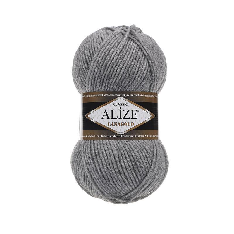 Лана Голд 21 - серый меланж