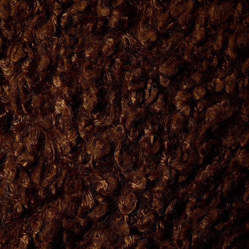 Мех Кудрявый КЛ.24888 50х50см коричневый