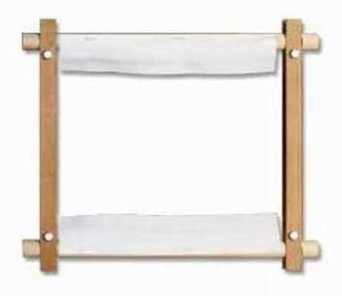 Пяльцы-рамка из лиственницы 40х40 см (пришивные)