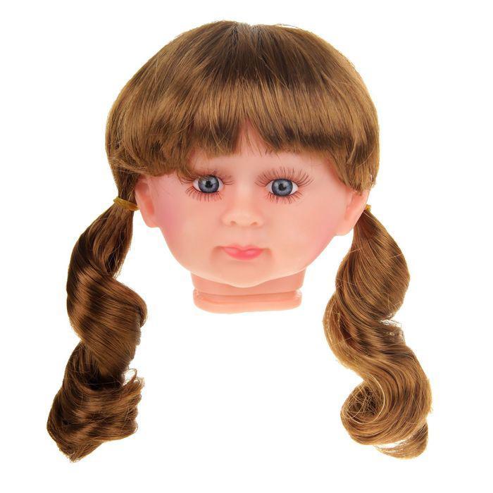 Волосы для кукол Кудряшки в хвостиках с челкой 2294833