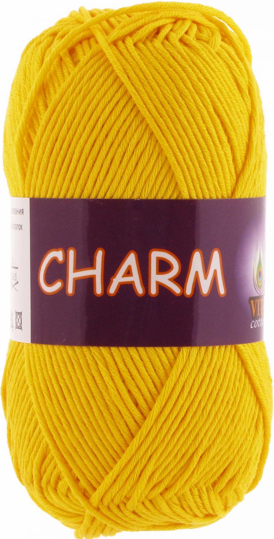 Пряжа Charm 4180 - желтый