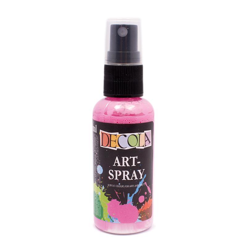 Акриловый арт-спрей НП 15530322 розовая 50мл