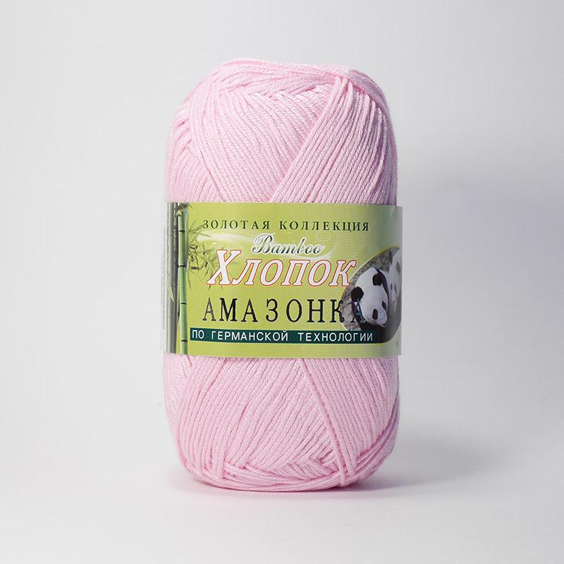 Пряжа Амазонка 105 - розовый