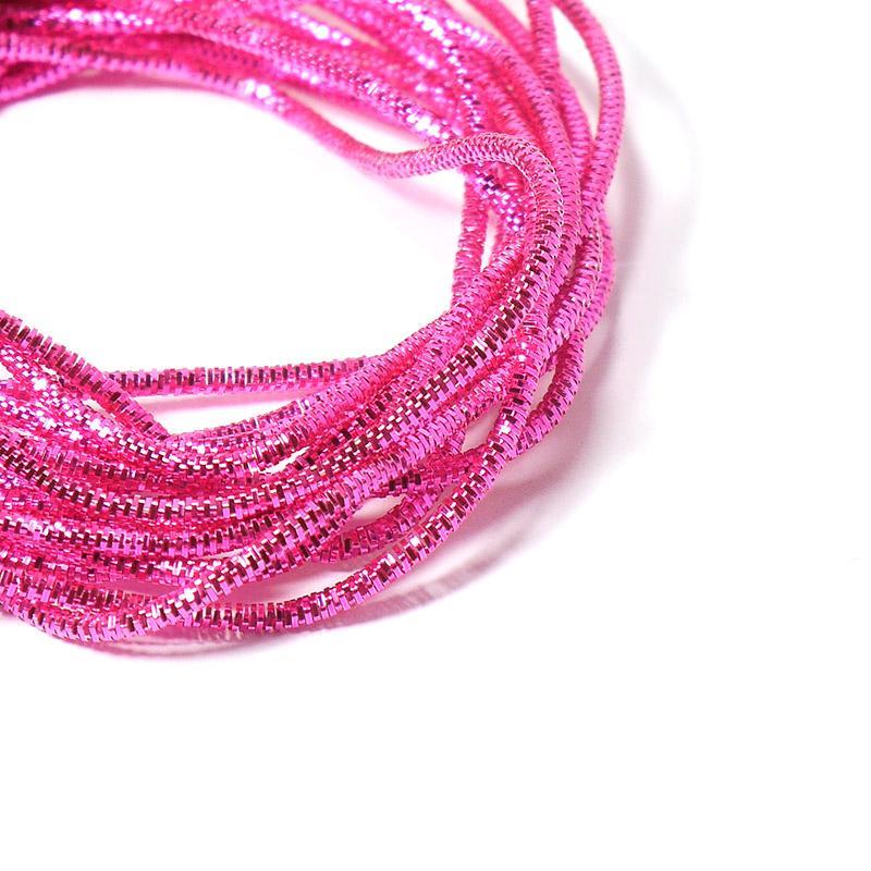 Канитель 0,7мм 4972EMBNK розовый трунцал 5гр