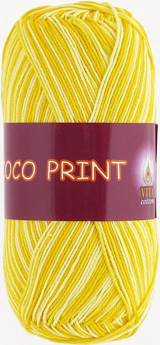 Coco print 4677 - лимонный