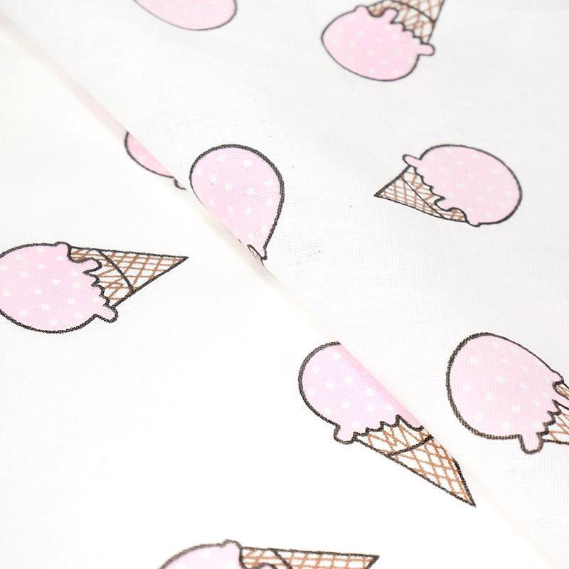 Ткань хлопок Мороженое-1812 100%хлопок 150см 3м 02 розовый СК