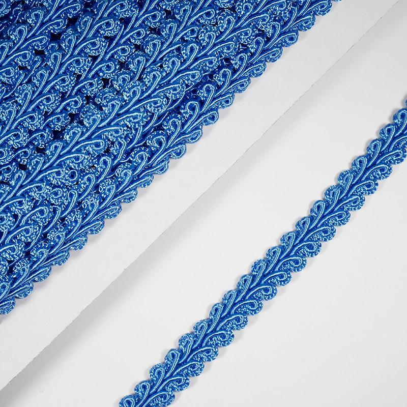 Тесьма Шанель 10мм 18.2м 164 яр.голубой