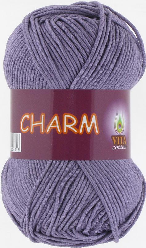 Пряжа Charm 4501- светло-сиреневый
