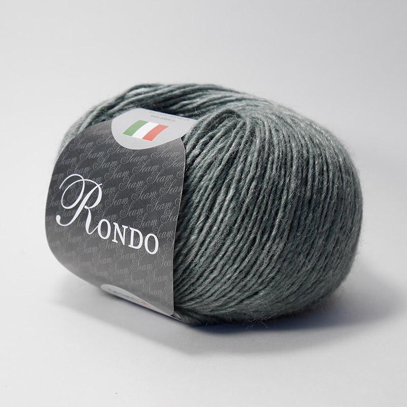 Пряжа Рондо 04 темно-серый