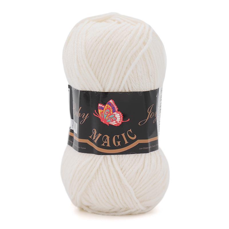 Пряжа Baby Joy 5701- белый