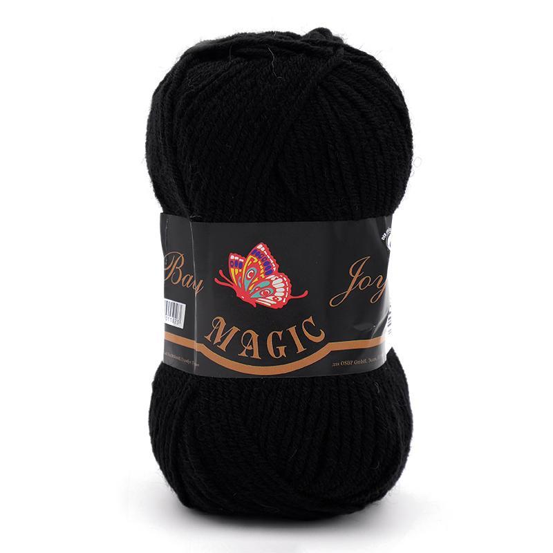Пряжа Baby Joy 5702 - черный