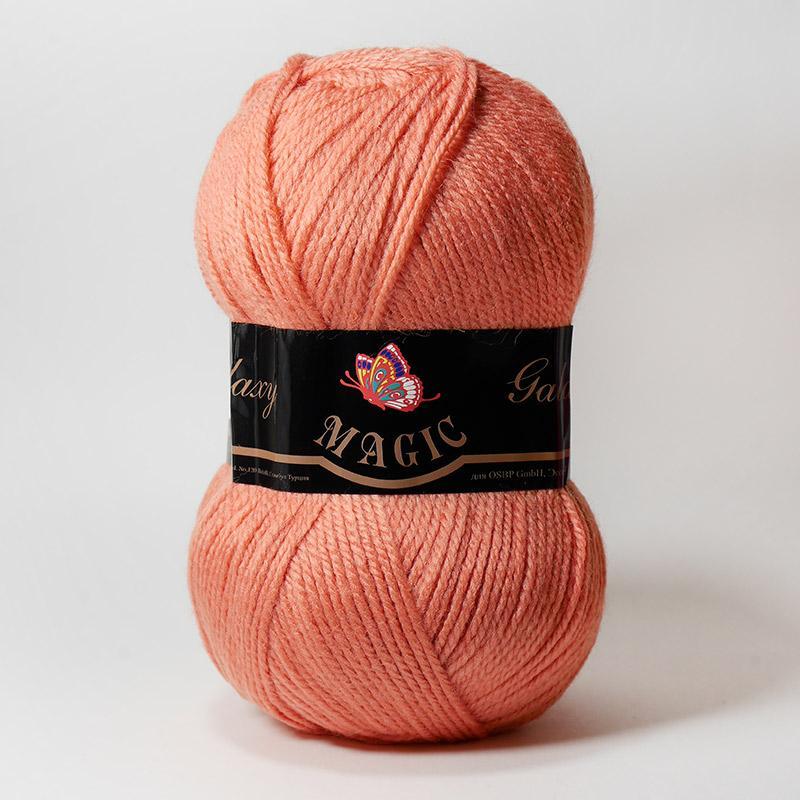 Пряжа Galaxy 5921 - розовый персик