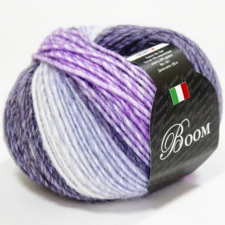 Пряжа Бум 28705 фиолетово-сиреневый