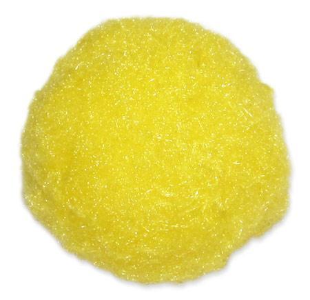 Помпоны 35мм желтый