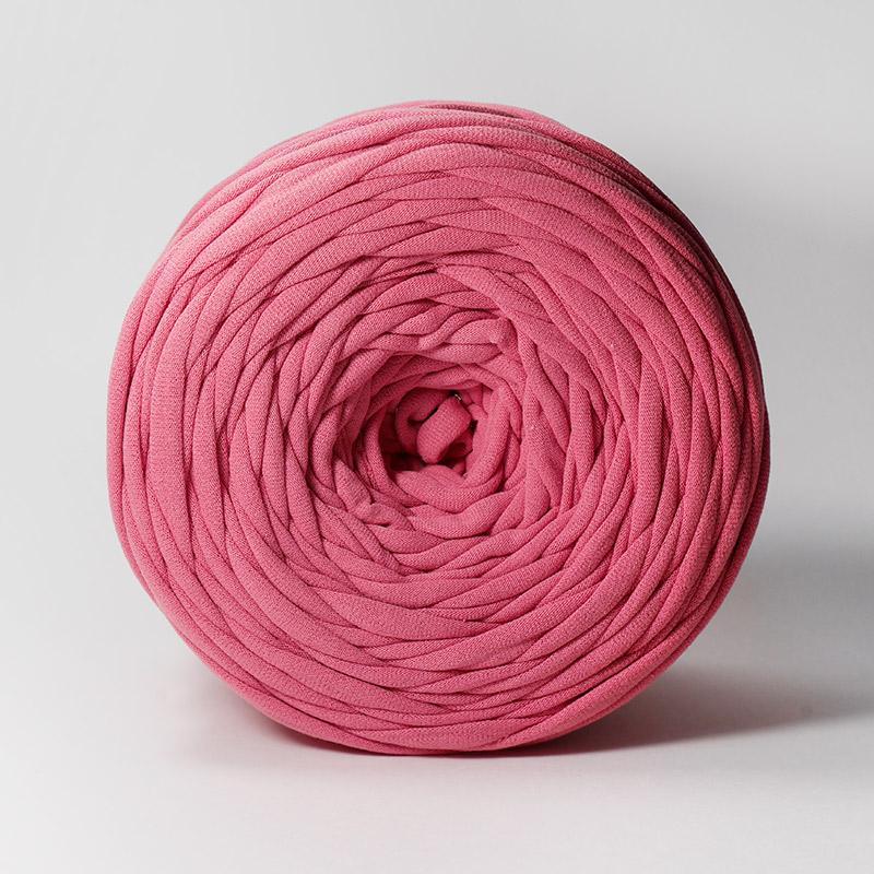 Пряжа Лента - сухая роза