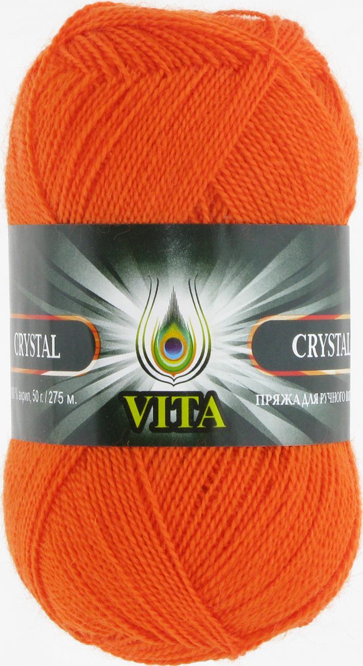 Пряжа Crystal 5679 - оранжевый