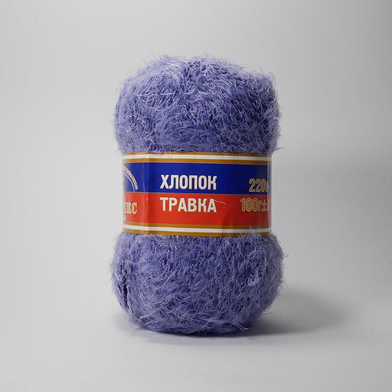 Хлопок травка 060 - фиолетовый