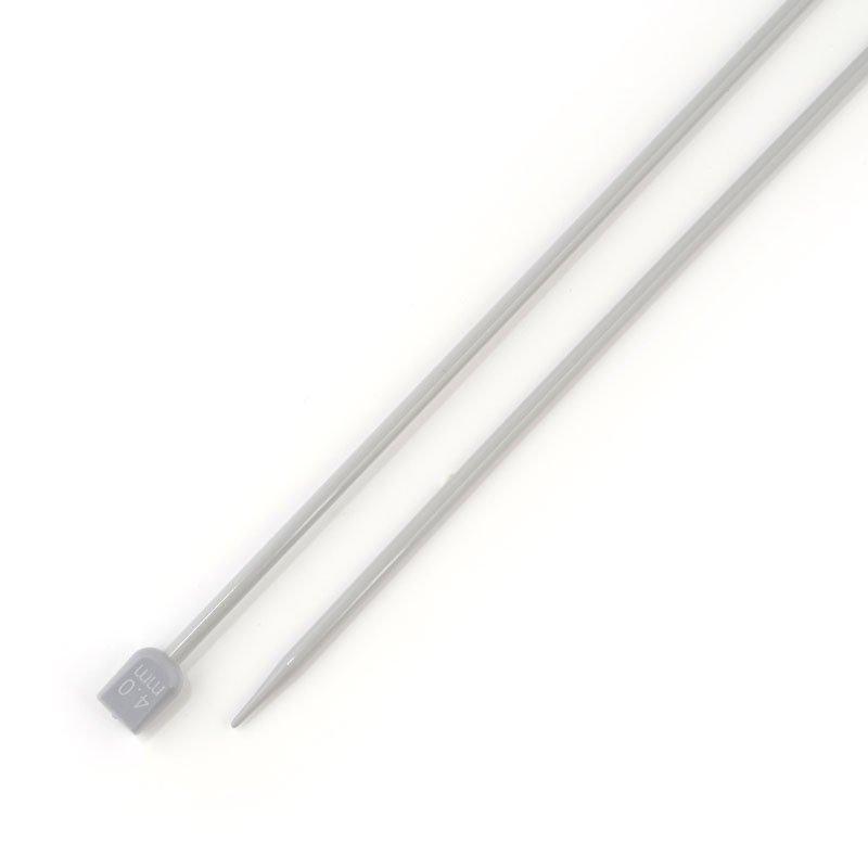 Спицы прямые тефлон 4.0мм 35см