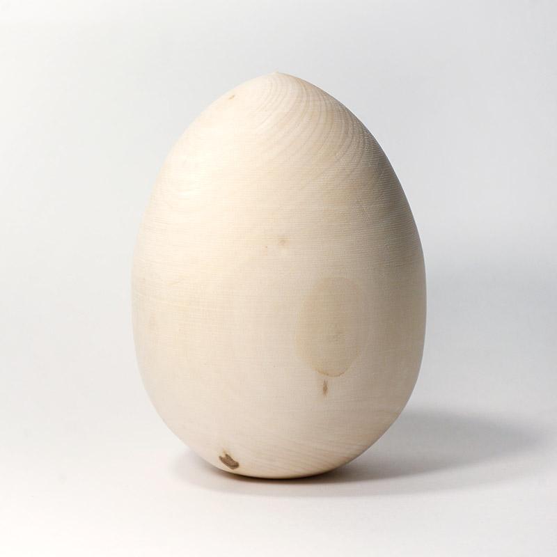 Яйцо деревянное h 120*d 90 мм (пасха)