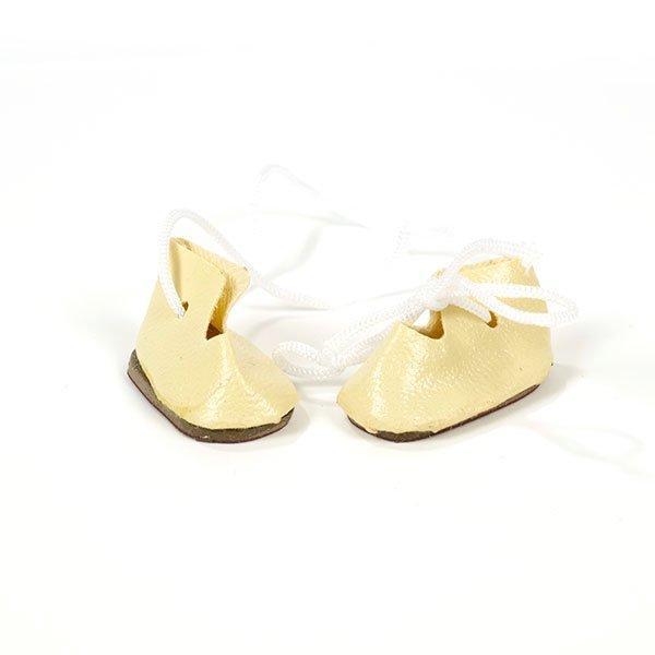 Ботиночки д/кукол КЛ.20138 30мм молочный 2 пары